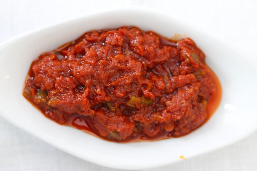 Spicy Tomato salad – Matbucha – Shelly's Humble Kitchen