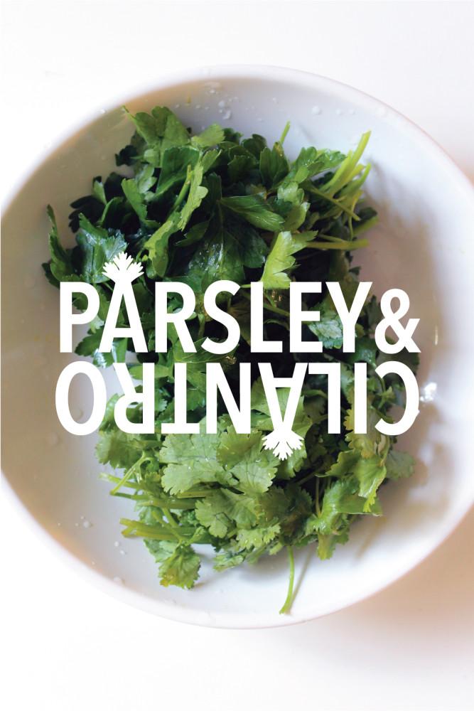 Parsley&cilantro